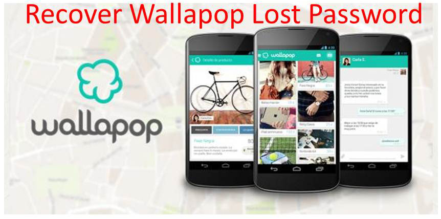 Recover wallapop lost password
