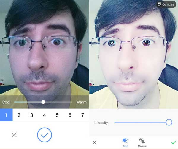 img9 photo editing tips: Beauty mode yes or no