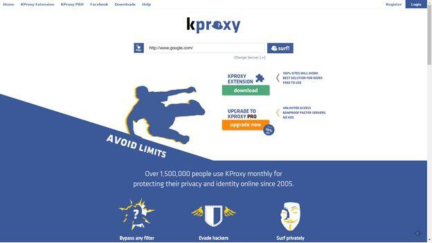 kproxy best free proxy 2017
