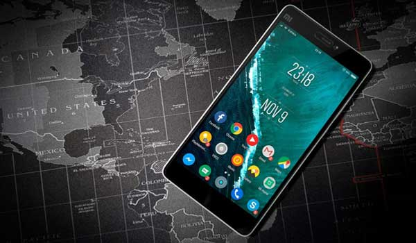 Google-map-on-android-phone