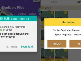 delete android duplicate files