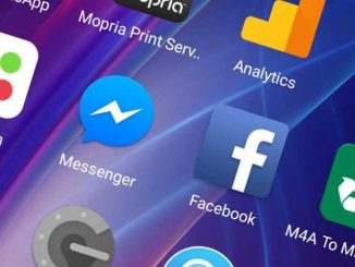 Facebook with messenger app