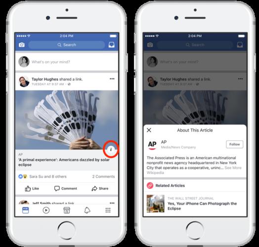 identify fake sites on facebook