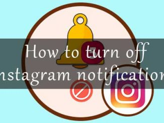 How to turn off notifications on instagram